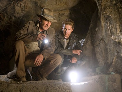 Indiana Jones and the Kingdom of the Crystal Skull -- Indy and Mutt